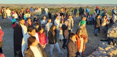 El centro ceremonial más importante del Valle del Guadiana, recibió el 21 de marzo a decenas de duranguenses por ser el día del equinoccio de la primavera.