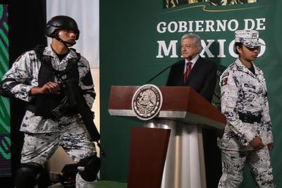 En mes y medio los agentes de la Guardia Nacional ya portarán este tipo de vestimenta.