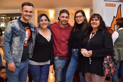 28032019 Tomás, Malena, Ricardo, Alejandra y Malena.