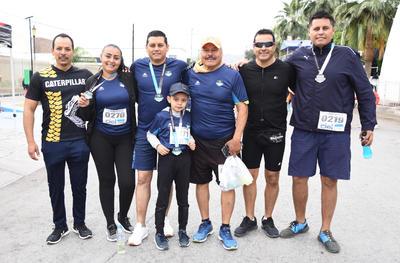 28032019 Jorge, Charly, José Ángel, Ricardo, Daniela y José Luis.