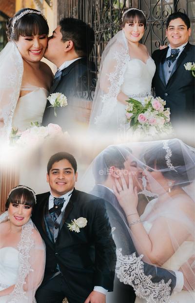 M.C. Efraín Ríos Sánchez y M.C. Bertha Yasmín Ávalos Calleros se convirtieron en marido y mujer.