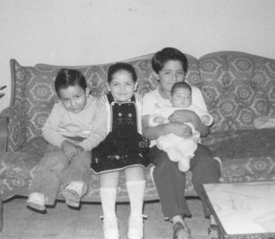 Gerardo, Geraldina, Alejandro y Grethel Ramada.