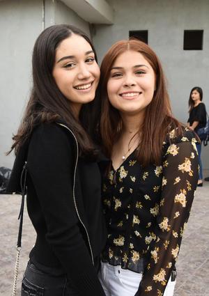 01032019 Bárbara Magaña y Aranza Rubio.