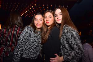 Pía, Valeria y Deby