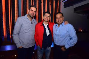 Enrique, Héctor y Benito