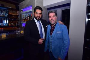 Ernesto Reyes y Raúl Domínguez