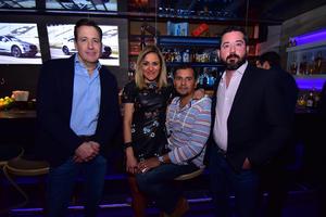 Humberto, Hilda, Jorge y Leopoldo