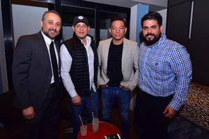Jaime, Frank, Cristian y Omar