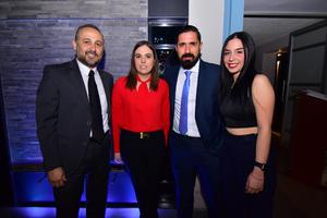 Jaime, Susana, Sergio y María