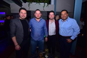 René, Mario, Arturo y Benito