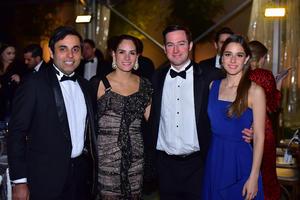 Armando, Sofía, Alejandro y Alejandra