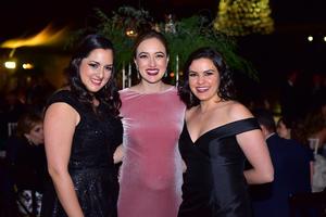 Natalia, Bárbara y Ana Cris