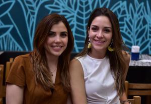 Mariane Le Henaff y Laura Martínez