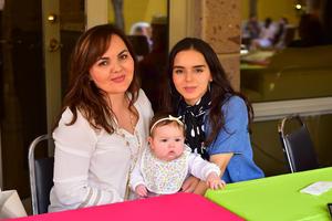Paola, Greta y Andrea