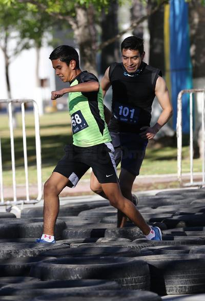 Al terminar el recorrido, cada uno de los competidores terminó con una sonrisa en el rostro por superar sus retos personales.