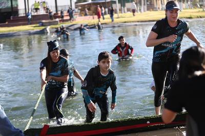 La carrera de obstáculos más divertida de Durango se desarrolló en la Fenadu, en donde 12 estaciones esperaron a los participantes.