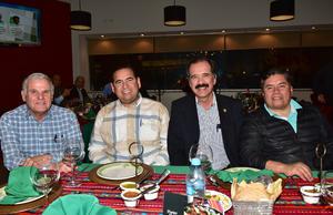 04032019 Rolando González, Martín Ramírez, Alejandro Sanz y Moisés Moreno.