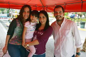 02032019 Ana, Emma, Aurora y Edgardo.