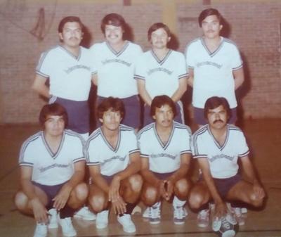 03032019 Equipo del Banco Internacional, noviembre de 1982: Andrés Vázquez, Héctor Muñoz, Jaime del Valle, Manuel González, Artemio Monreal, Abelardo Ayala (qepd), Pepito Gaona y Manuel Martínez.