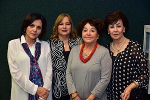 06032019 Marcela Pámanes, Lourdes Benavides, Adela Celorio y Yeye Romo.