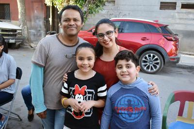 07032019 Aarón, Alejandra, Abril y Kaleb.