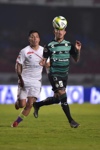 Santos rescata un punto ante un tambaleante Veracruz