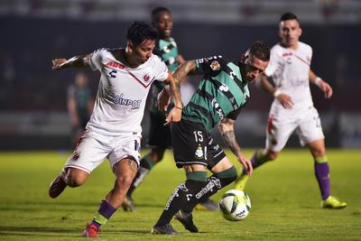 Santos Laguna obtuvo el empate frente a Veracruz.