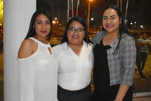 11032019 PRESENTACIóN DE LIBRO.  Fernanda, Fernanda y Camila.