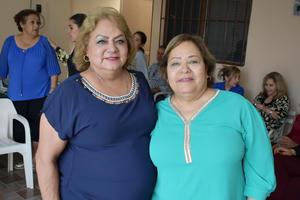 09032019 EN FESTEJO.  Paty y Sonia.