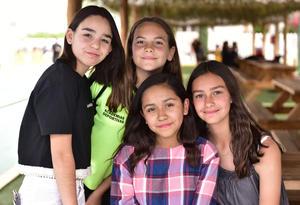 11032019 Paula, Ángela, Ángela y Nadhezda.