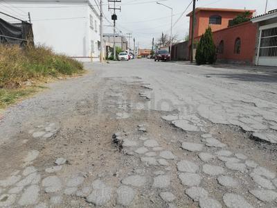 Exigen atención. Sobre la calle Palermo atrás de un vivero en la colonia Ampliación la Rosita ya existen partes con tierra; los vecinos exigen atención inmediata al sector habitacional.
