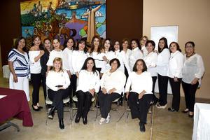 12032019 CONCURSO DE JARDINERíA.  Integrantes del Club Clivia presentes en esta actividad que se realizó en el Museo del Algodón.