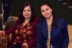 13032019 EN INAUGURACIóN.  Liliana y Rosario.