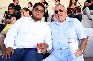 13032019 EN LOS TOROS.  Ever G. y Marco Aldape.