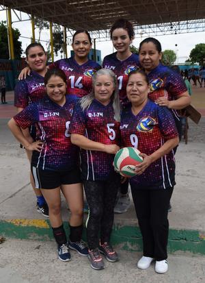 13032019 De Ciudad Lerdo, Durango, la D-I-74: Norma Leticia, Norma Isela, Mily, Diana, Zulema Esther y Alejandra.
