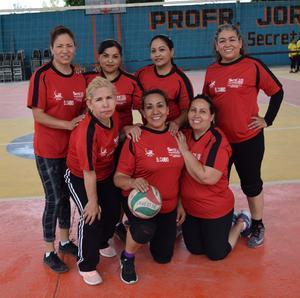 13032019 Equipo de El Cambio, municipio de Matamoros, Coahuila: Laura, Ana Abril, Aída, Lupita, Norma, Adriana y Sonia.