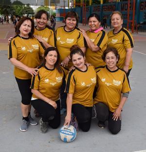 13032019 Equipo de la Est. 74 de la Colonia Chapala de Gómez Palacio, Durango: Coco, Laura, Mary, Norma, Zoila, Vero, Oly y Penélope.
