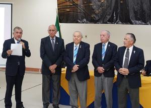13032019 MAGNO FESTEJO.  Algunos de los invitados a la celebración de los 114 años de Rotary Internacional.