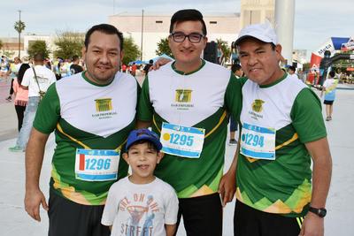Luis Ángel, Eduardo, Gerardo y Leonel.