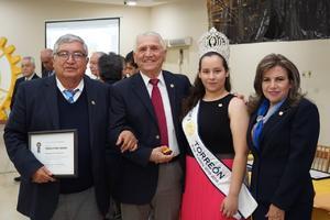 14032019 CENA DE ANIVERSARIO.  Algunos de los invitados al festejo de los 114 años de Rotary Internacional.