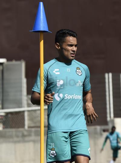 Santos se prepara para su duelo contra Necaxa