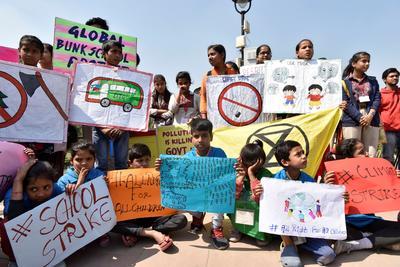 Una jornada de huelga y reivindicación bajo el lema Friday for Future (Viernes por el futuro).
