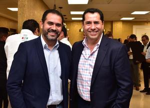 Benjamin Flores y Ricardo Ventura