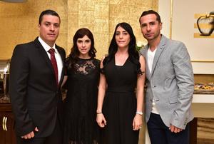 Daniel, Barbara, Karla y Guillermo