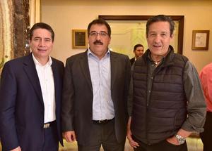Oscar Garcia, Francisco Bardan y Alberto Allegre