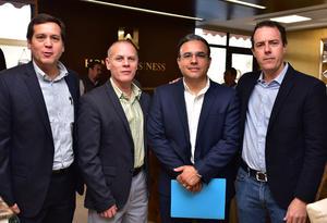 Rodolfo, Jorge, Alberto y Eduardo