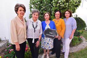 Nena, Magaly, Cristy, Ma. Eugenia y Mariela