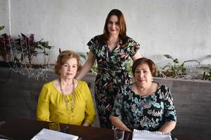 Albertina, Patricia y Berenice