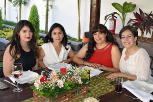 Alondra, Nely, Lolis y Ana