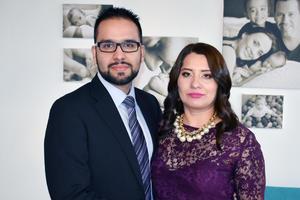 Armando Quiniones y Cecilia Huizar